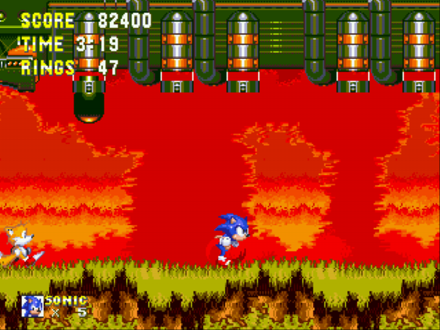Sonic the Hedgehog 3 - TAILS LOOKOUT!!!! - User Screenshot